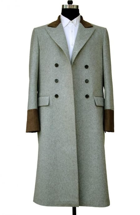 4th Doctor Who Tom Baker Coat Horror Of Fang Rock.