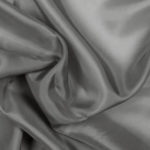 Gray acetate fabric for garment lining.