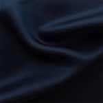 Navy acetate fabric for garment lining.