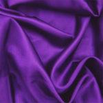 Purple acetate fabric for garment lining.