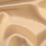 Beige acetate fabric for garment lining.