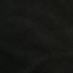 Black lambskin leather for jackets, pants, skirts, vests.