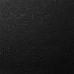 Cow Nappa black leather for coats, jackets, pants, skirts, vests.