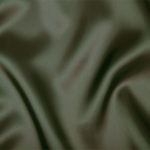 Olive acetate fabric for garment lining.