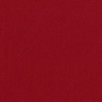 Red twill cotton for shirts and dresses.