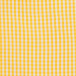 100% poplin cotton in a scotch gingham pattern ideal for shirts, dresses, skirts, pants, and unstructured blazers.