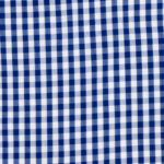 100% poplin cotton in a true gingham pattern ideal for shirts, dresses, skirts, pants, and unstructured blazers.