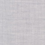 Super 140s 8oz 100% worsted wool plain in light grey suitable for suits, jackets, pants, skirts, dresses, and vests.