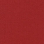 Red, medium weight wool flannel ideal for all year round.