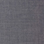 Super 130s 100% merino wool 9 oz in light grey ideal for suits, jackets, dresses, pants, skirts, and blazers.