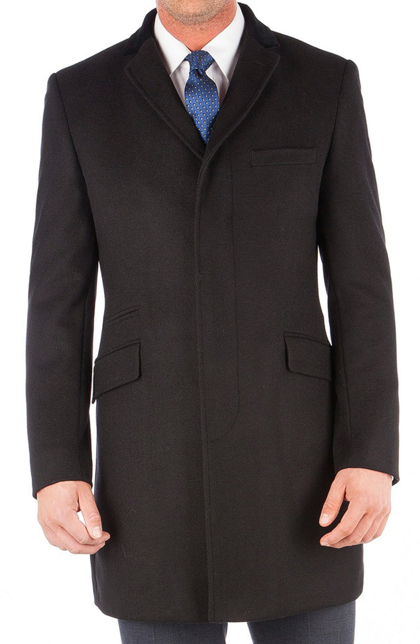all purpose black topcoat
