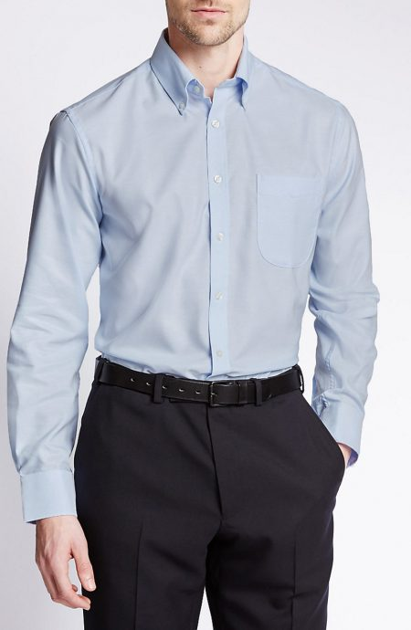 Egyptian cotton dress shirts for men.