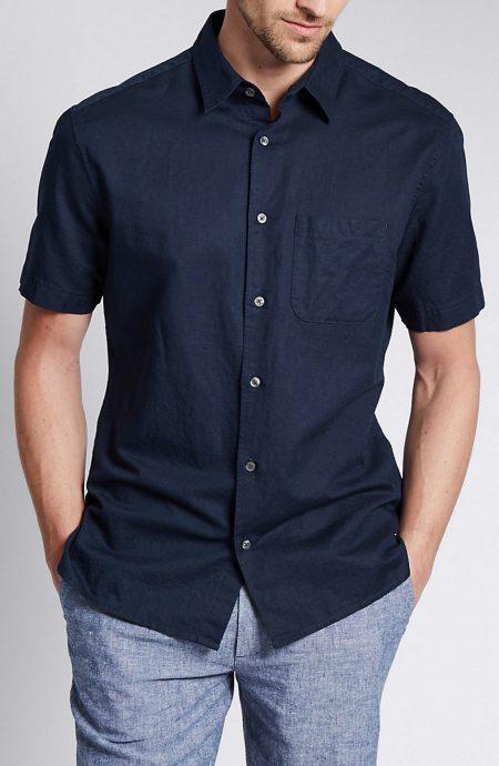 Men's Linen Cotton Shirts