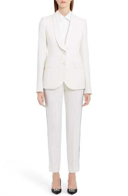 Female tuxedo suit for prom.