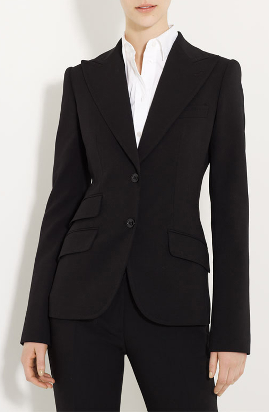 Tailored womens suits are suitable for weddings, office events, and evenings.