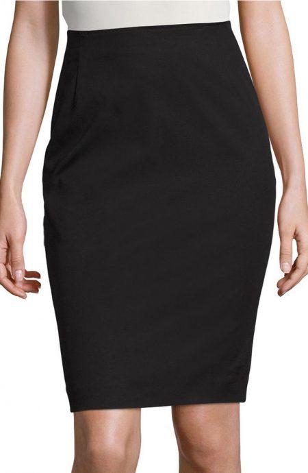 Womens black skirt for work.