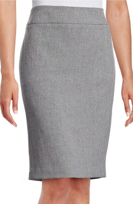 Womens grey pencil skirt.