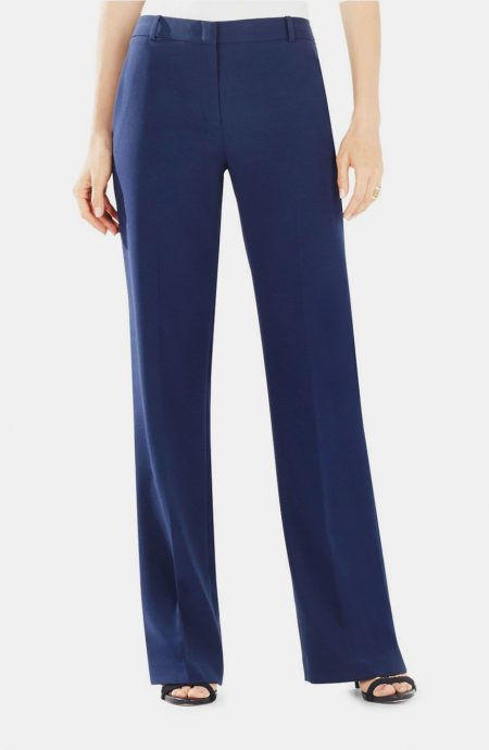Womens navy blue boutique flare pants.