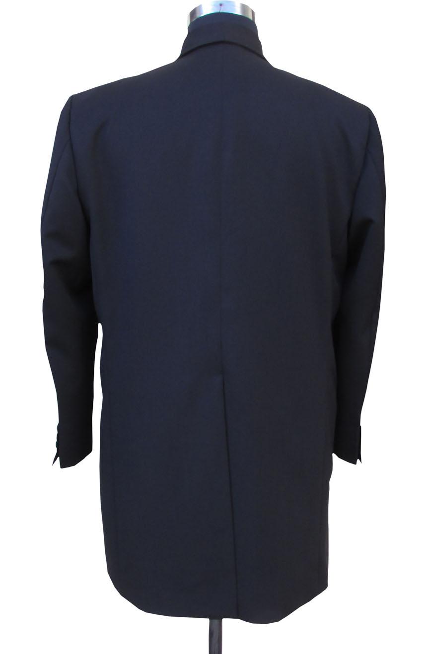 1st Doctor Who black coat full back view.