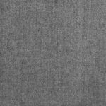 Super 110s 100% worsted wool brushed in light grey ideal for coats, jackets, suits, dresses, trousers, skirts, and vests.