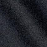 Black color 100% Melton wool fabric in 20 oz weight ideal for suits, coats, overcoats, jackets, vests, pants, and skirts.