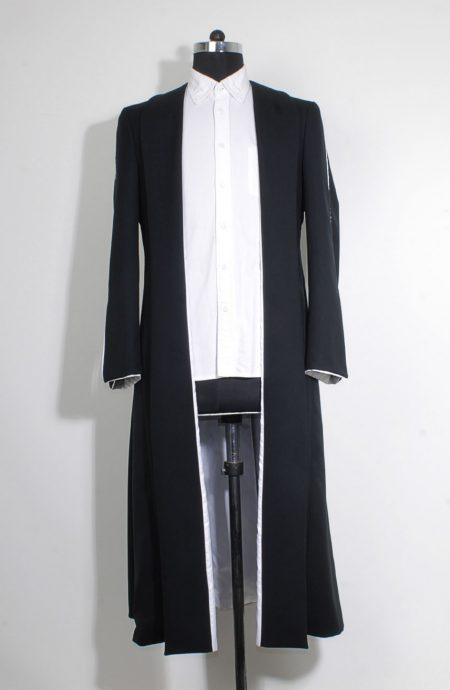 Black wizard robe womens from the Fantastic Beasts for Percival Graves cosplay.