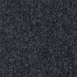 Charcoal color 100% Melton wool fabric in 20 oz weight ideal for suits, coats, overcoats, jackets, vests, pants, and skirts.