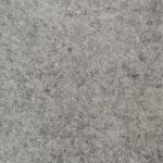 Light grey color 100% Melton wool fabric in 20 oz weight ideal for suits, coats, overcoats, jackets, vests, pants, and skirts.