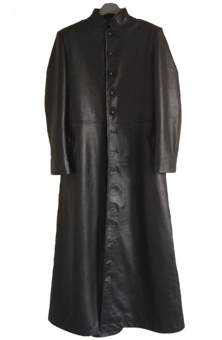 Neo leather trench coat replica from Matrix 2.