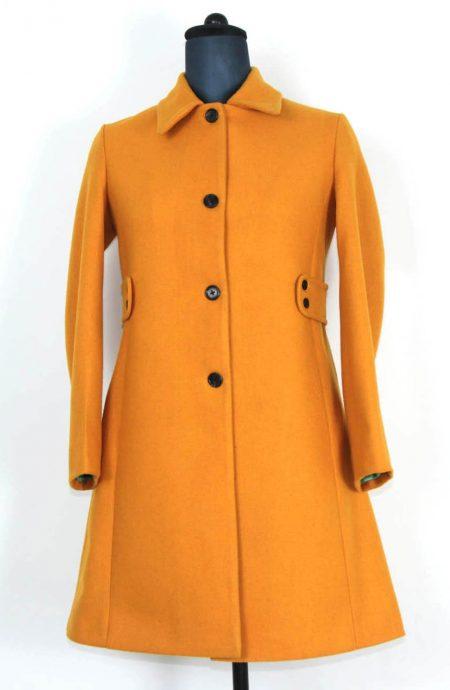 Womens dress coats for winter in Melton wool.