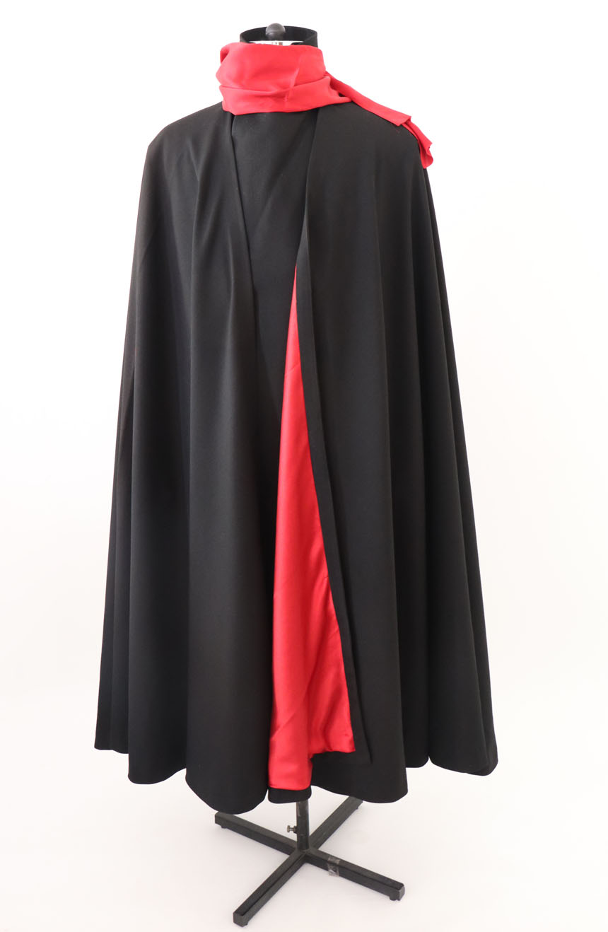 100% screen accurate shadow coat costume replica from the 1994 film The Shadow starring Alec Baldwin. The costume with the red scarf.