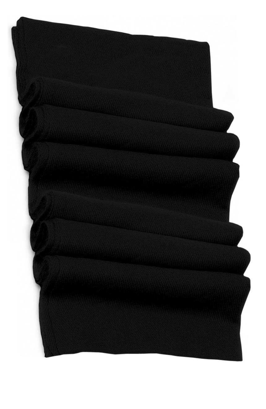 Pure cashmere blanket for baby in black super soft promotes the best sleep.