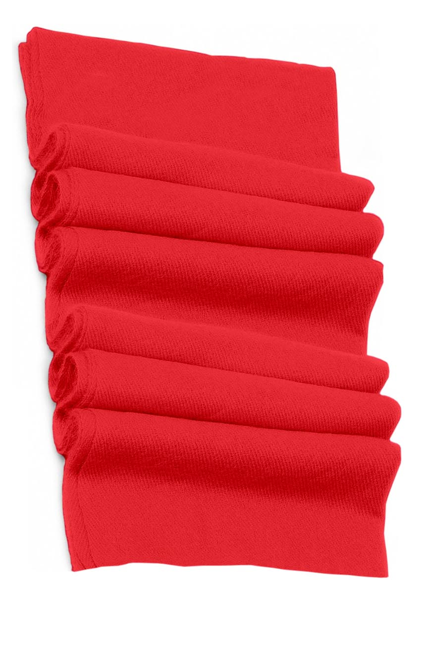 Pure cashmere blanket for baby in dark fuchsia super soft promotes the best sleep.