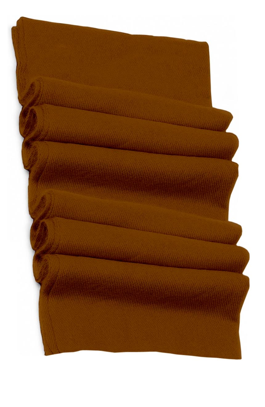 Pure cashmere blanket for baby in walnut color super soft promotes the best sleep.