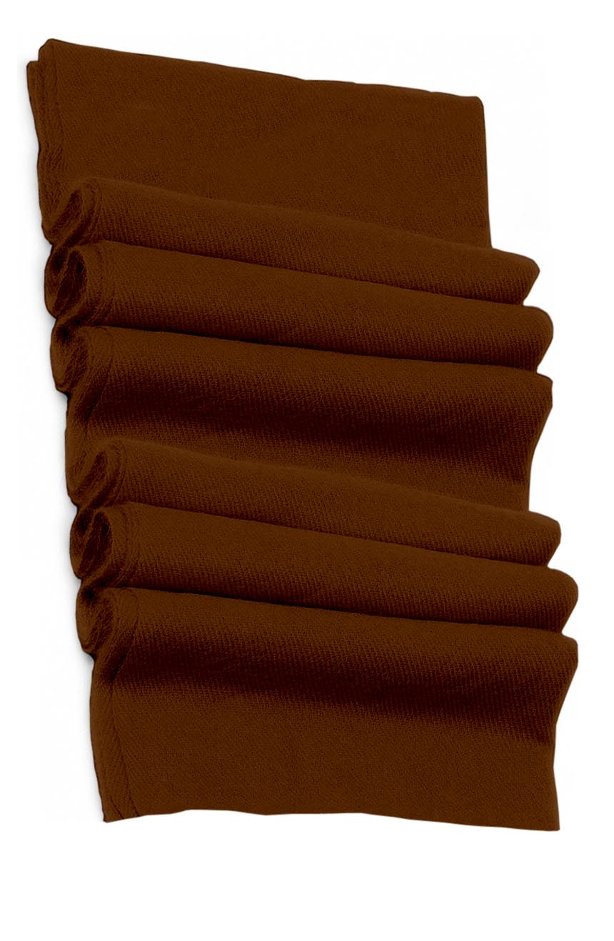 Pure cashmere blanket for baby in chocolate super soft promotes the best sleep.