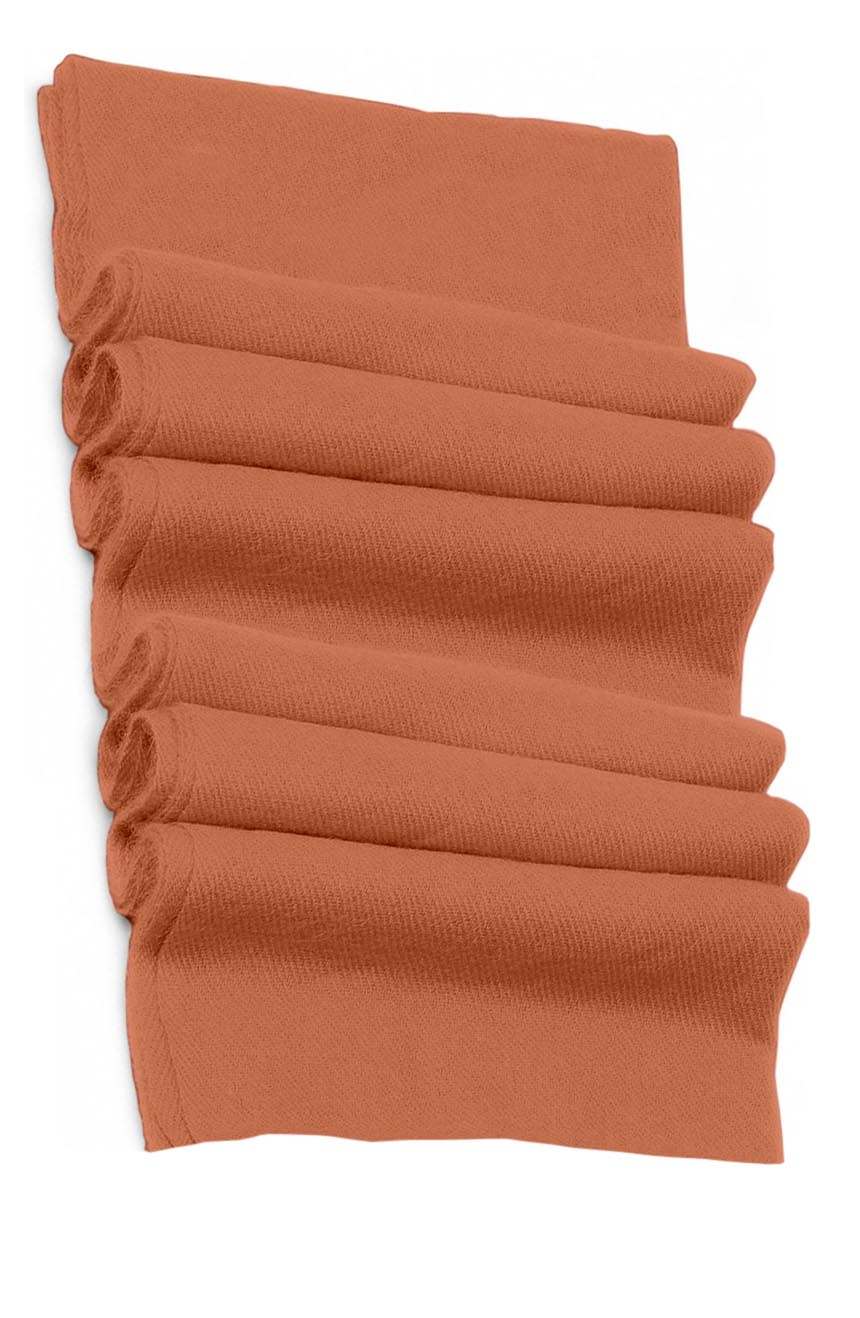 Pure cashmere blanket for baby in rose brown super soft promotes the best sleep.