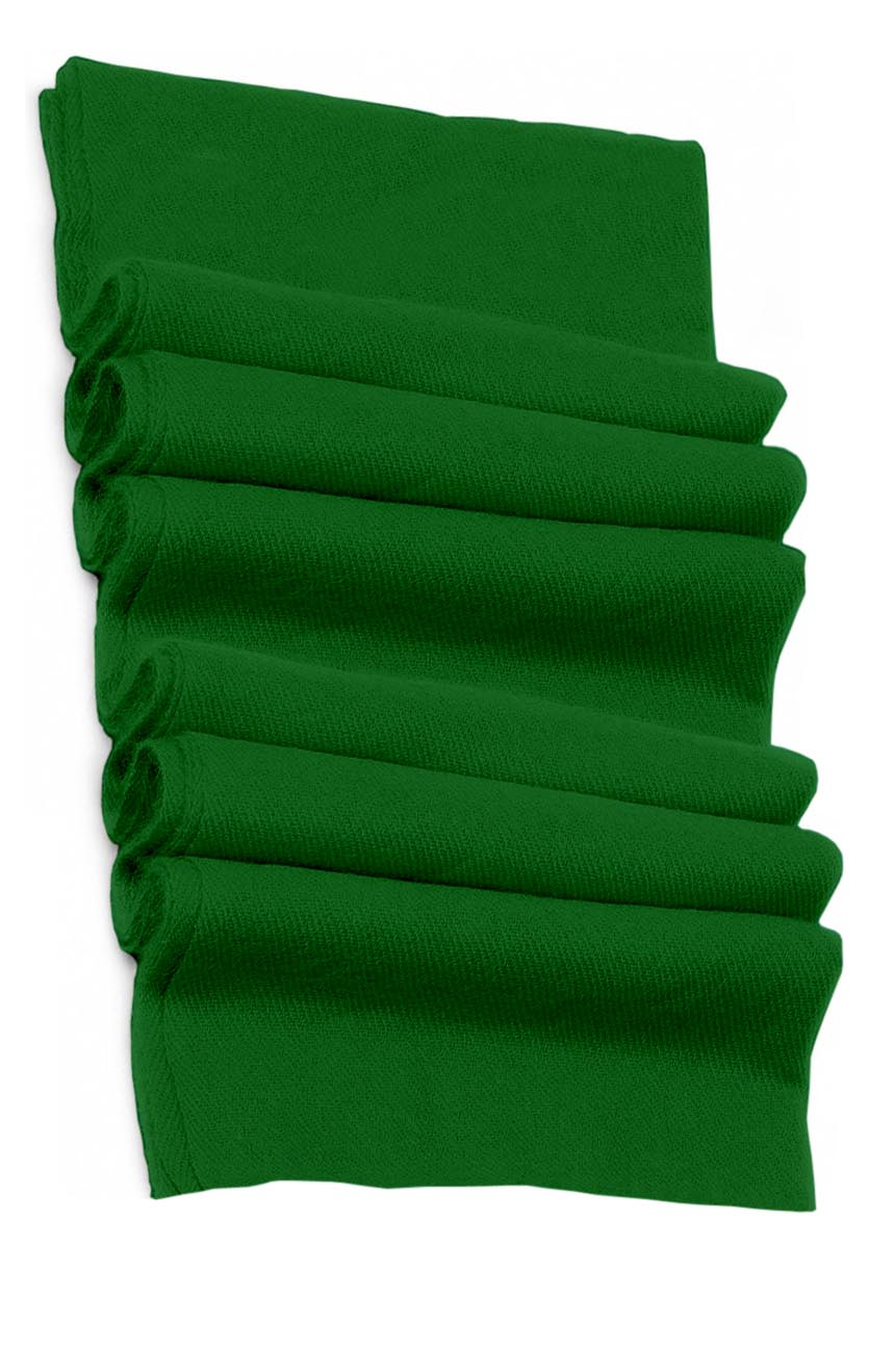Pure cashmere blanket for baby in eucalyptus green super soft promotes the best sleep.