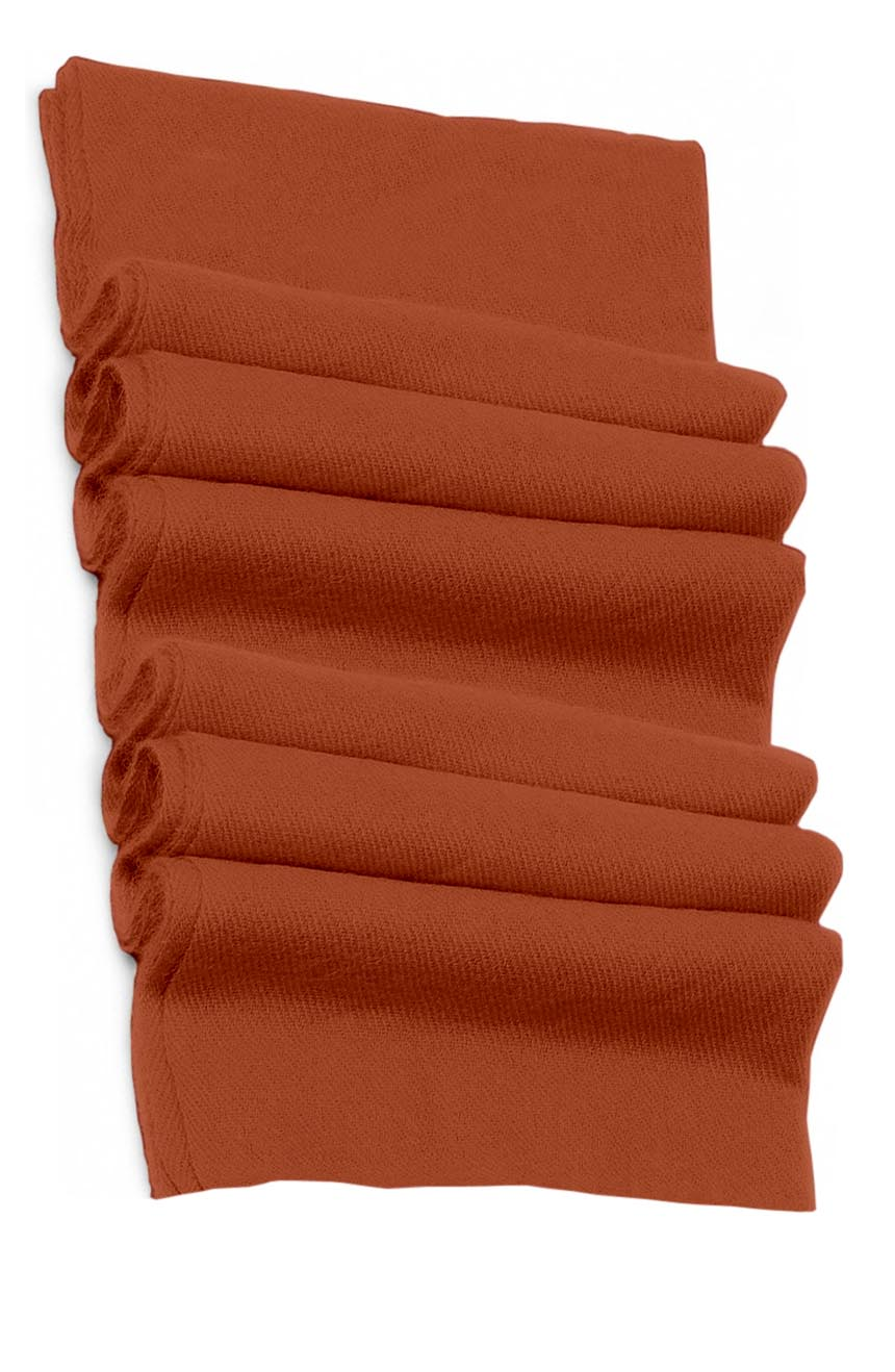 Pure cashmere blanket for baby in dark rose brown super soft promotes the best sleep.