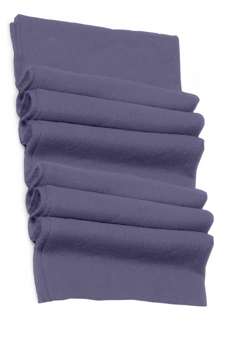 Pure cashmere blanket for baby in aniline blue super soft promotes the best sleep.