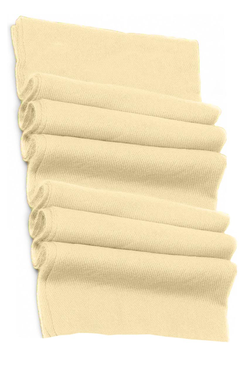 Pure cashmere blanket for baby in ivory super soft promotes the best sleep.