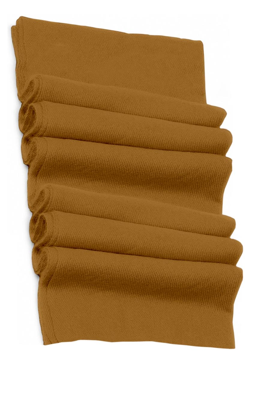 Pure cashmere blanket for baby in golden brown super soft promotes the best sleep.