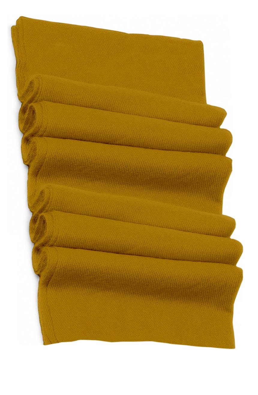 Pure cashmere blanket for baby in nugget gold super soft promotes the best sleep.