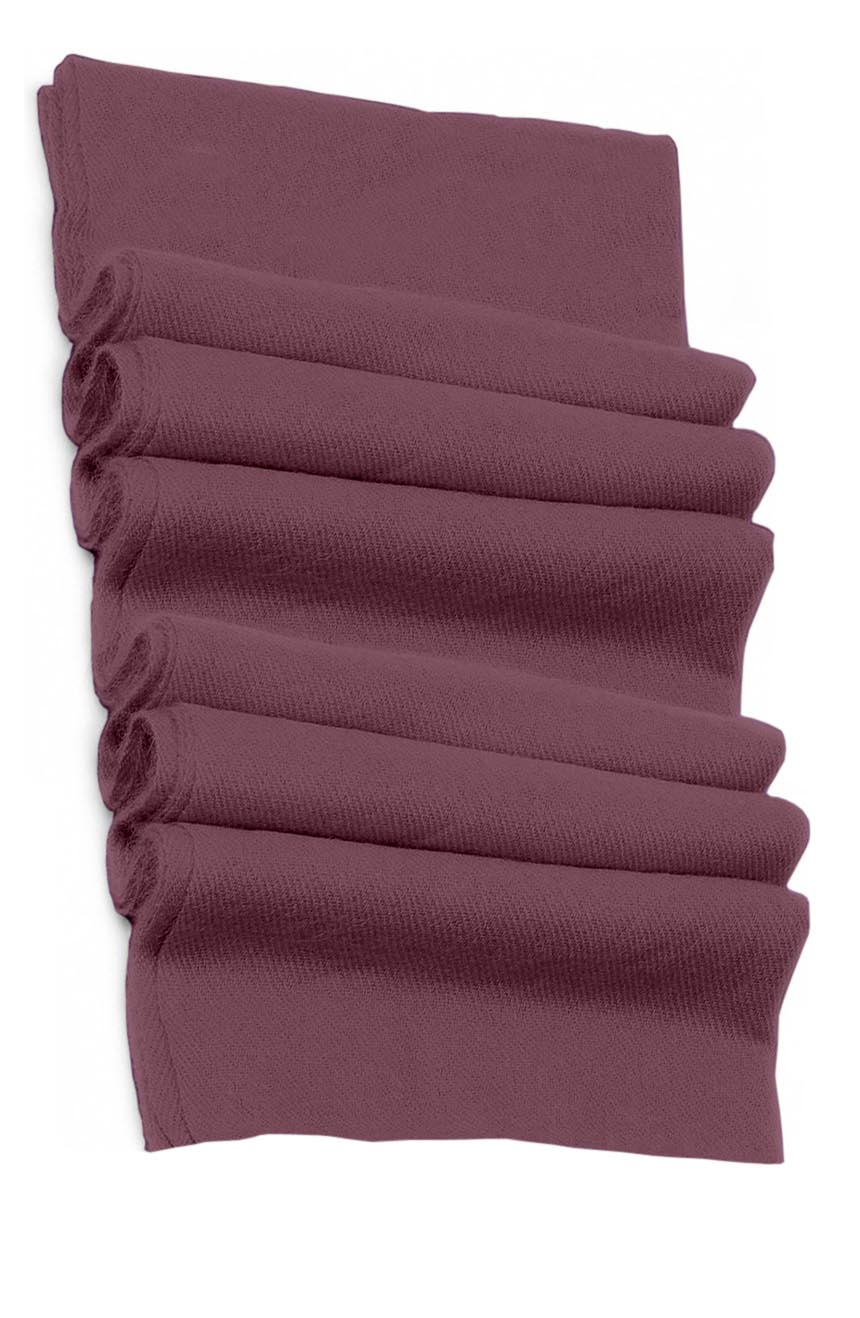 Pure cashmere blanket for baby in mauve super soft promotes the best sleep.