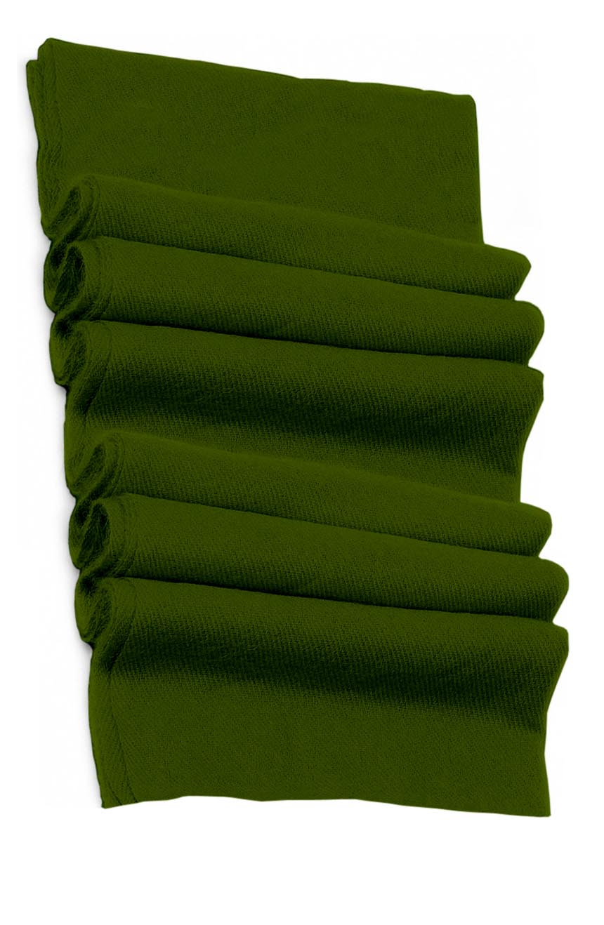 Pure cashmere blanket for baby in basil green super soft promotes the best sleep.