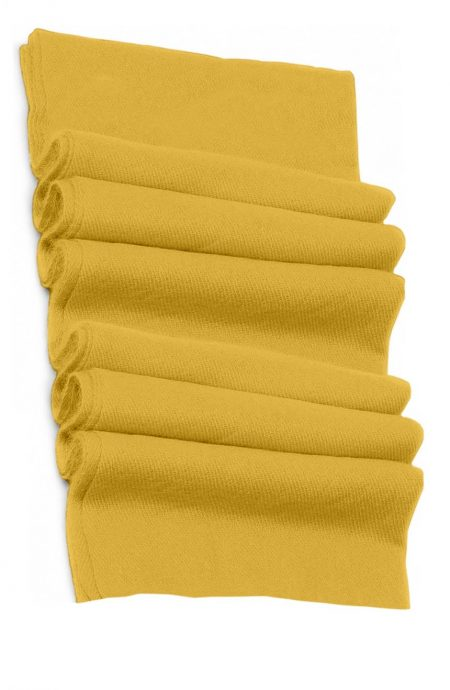Pure cashmere blanket for baby in butterscotch color super soft promotes the best sleep.
