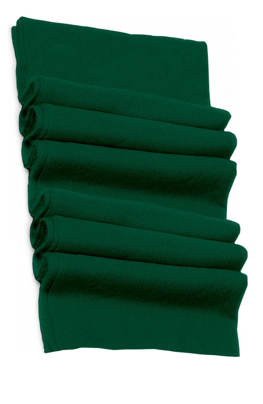 Pure cashmere blanket for baby in Sacramento green super soft promotes the best sleep.