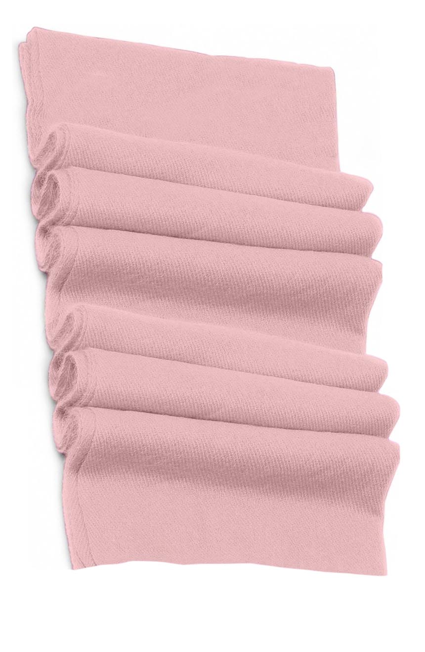 Pure cashmere blanket for baby in baby pink super soft promotes the best sleep.