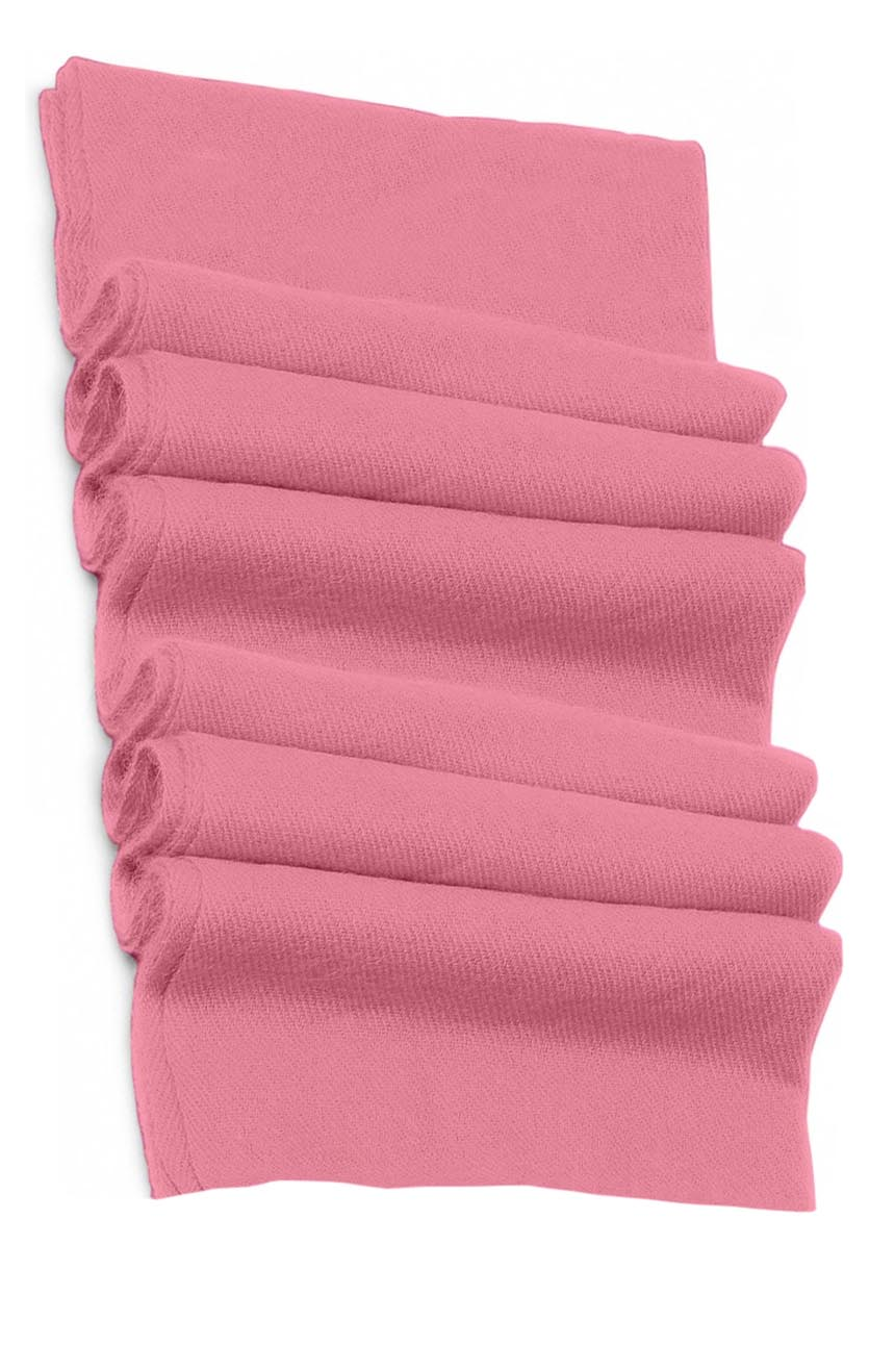 Pure cashmere blanket for baby in pastel pink super soft promotes the best sleep.