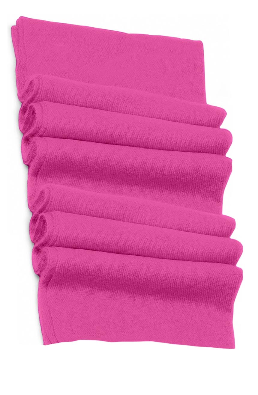 Pure cashmere blanket for baby in pink super soft promotes the best sleep.