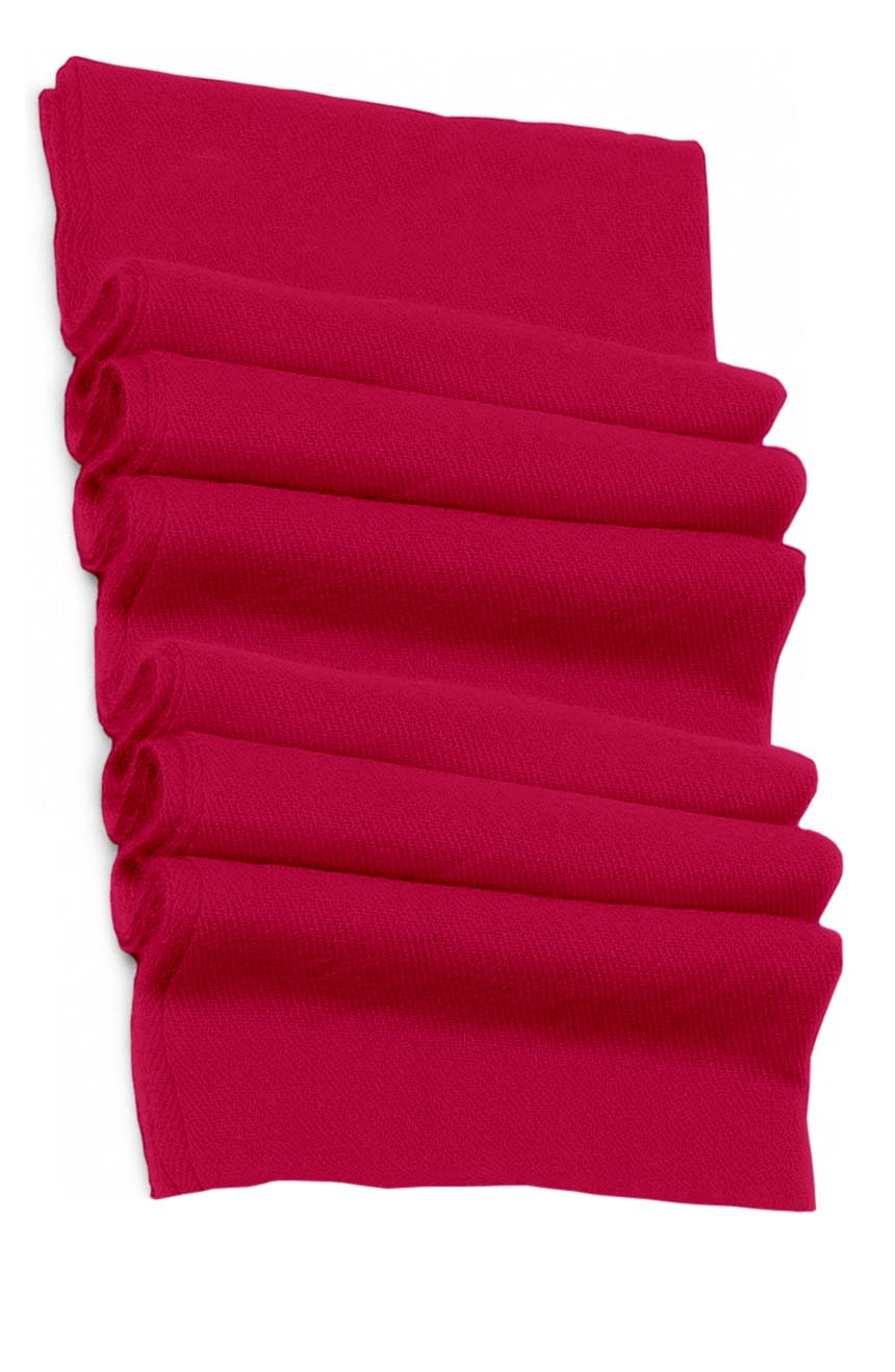 Pure cashmere blanket for baby in royal pink super soft promotes the best sleep.
